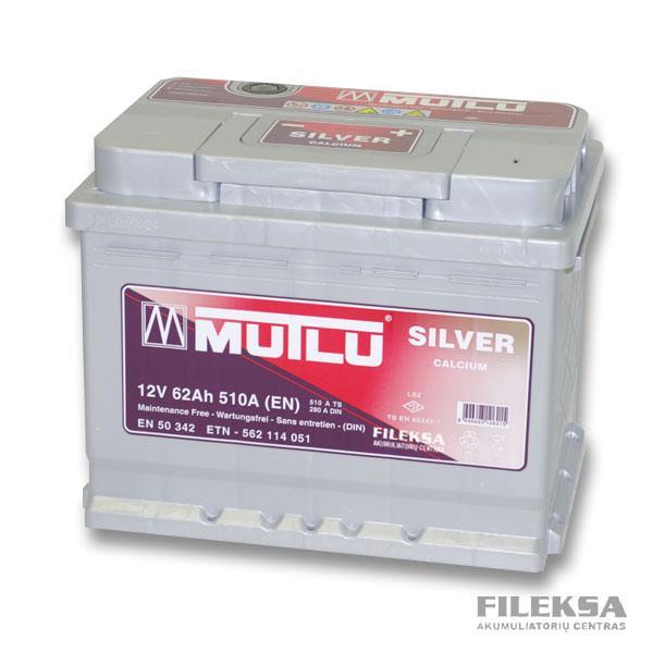 MUTLU 62 Ah Silver
