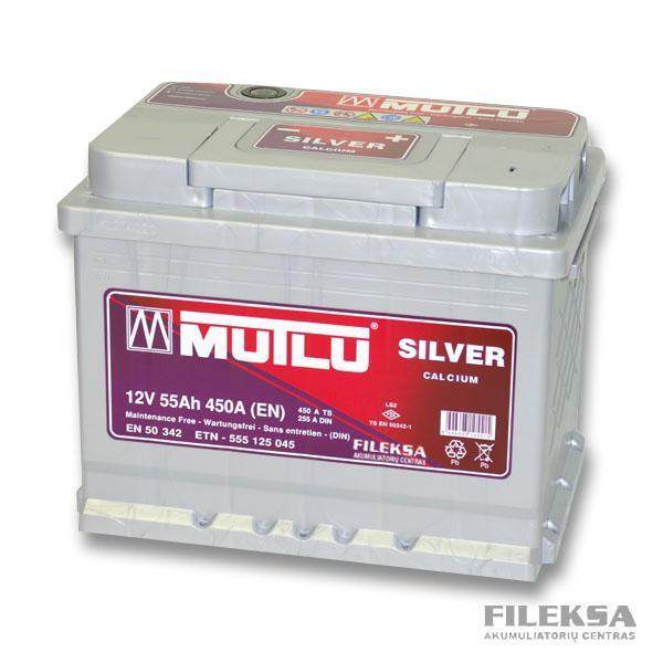 MUTLU 55 Ah Silver
