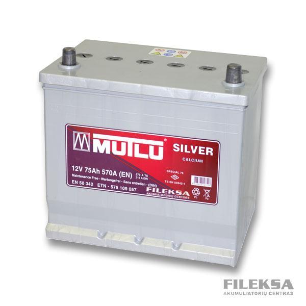 MUTLU 75 Ah Silver