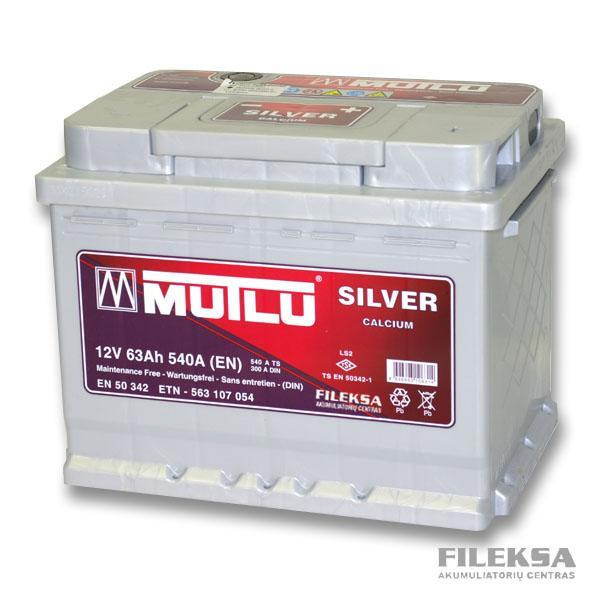 MUTLU 63 Ah Silver