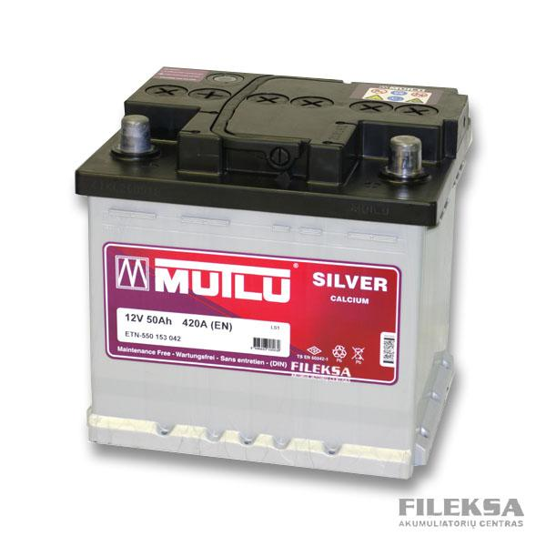 MUTLU 50 Ah Silver