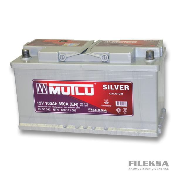 MUTLU 100 Ah Silver