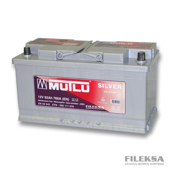MUTLU 92 Ah Silver
